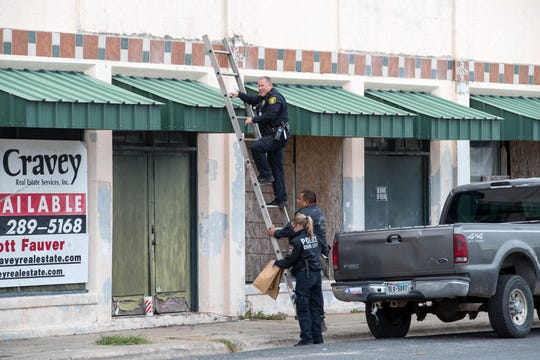 A Corpus Christi Police Officer was injured after falling through the second floor of a building where a man with an outstanding warrant was seen entering after fleeing officers during a traffic stop on Wednesday, November 13, 2019. The officer was transported to the hospital with non life-threatening injuries and the suspect is in custody.