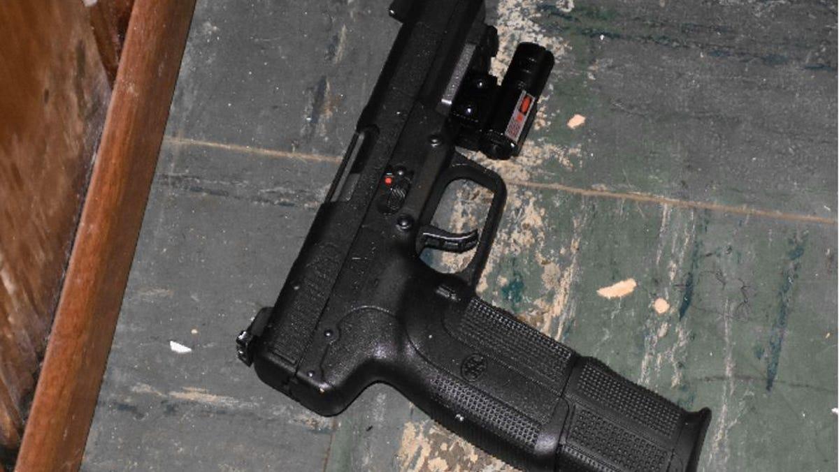 Fn Five Seven Pistol Controversial Gun Used To Kill Dayton Cop Jorge Delrio