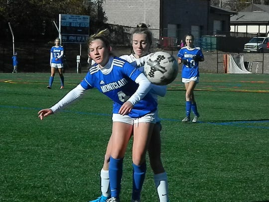 Scotch Plains-Fanwood at Montclair girls soccer in the NJSIAA Group IV semifinals on Wednesday, Nov. 13, 2019.