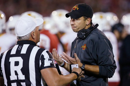 Disappointing as the finish may have been for Iowa State head coach Matt Campbell, a loss to Oklahoma last week didn't do much to change the Cyclones' bowl fortunes. The much more influential game is this Saturday's contest against Texas.