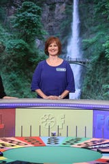 "Lynne Barnes of Altoona, Iowa on ""Wheel of Fortune"""