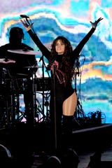 Camila Cabello performs onstage during the 7th Annual We Can Survive, presented by AT&T, a RADIO.COM event, at The Hollywood Bowl on Oct. 19, 2019, in Los Angeles, California.