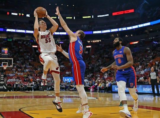 Sea Legs Stymie Detroit Pistons In Loss To Miami Heat