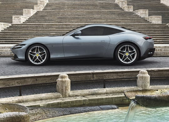 Ferrari's new mid-front-engined 2+ coupé will go 0-100 km/h (62.1371 miles per hour) in 3.4 seconds.