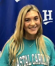 Horseheads High School senior Avery Snyder has signed to play lacrosse at Coastal Carolina.