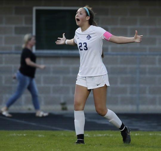 Bay Port's Emma Nagel will play soccer at Drake University.