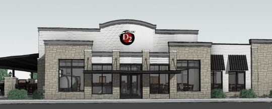 A rendering of the D2 Sports Pub slated to open in summer 2020 in Hobart's Centennial Centre neighborhood.