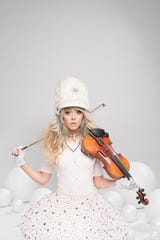 Lindsay Stirling brings her Christmas tour to the Peace Center Dec. 16.