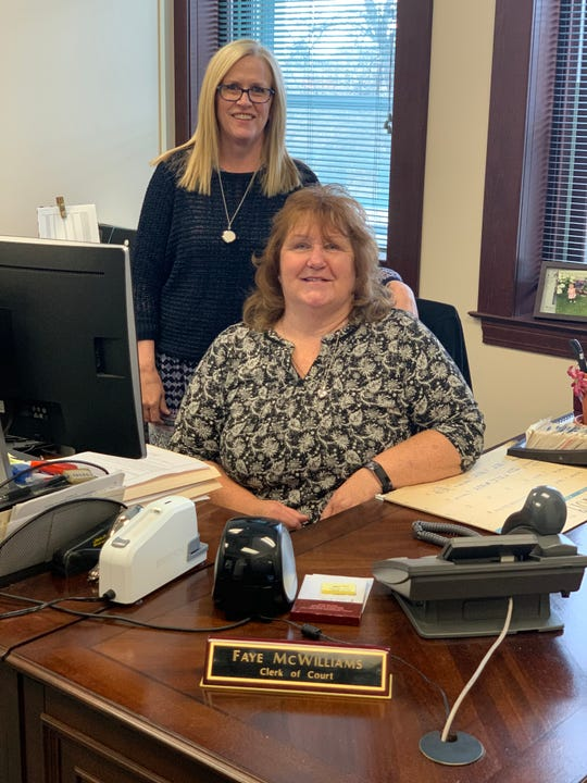 Tina Henry, chief deputy clerk of court, is replacing Faye McWilliams as clerk of court in Cascade County. McWilliams has been clerk of court since 2011.