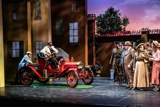 """Elixir of Love"" by the Indianapolis Opera at the Tarkington in the Center for the Performing Arts in Carmel is an adaptation of Gaetano Donizetti's ""Elixer of Love."""