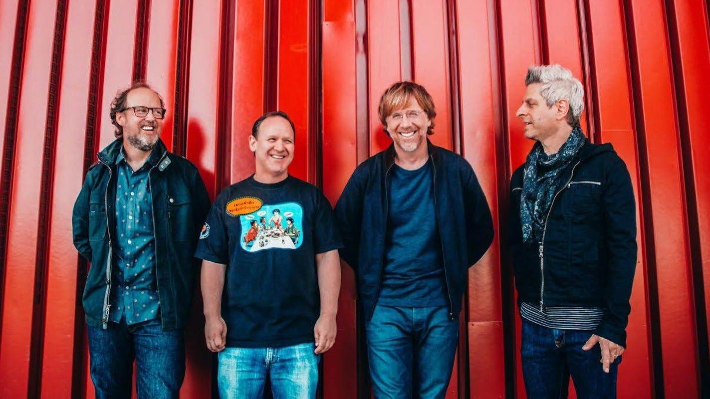 Phish announces 3-night stand at Ruoff Music Center