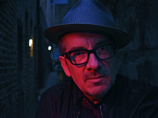 "Elvis Costello released an album titled ""Look Now"" in 2018."