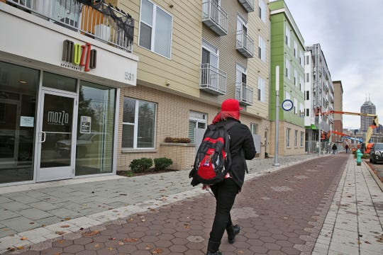 The stretch development along Virginia Avenue in the city's Fletcher Place and Holy Rosary neighborhoods has gone from almost nothing five or six years ago to now being one of the city's hottest neighborhoods, with a mix of retailers and apartment buildings.