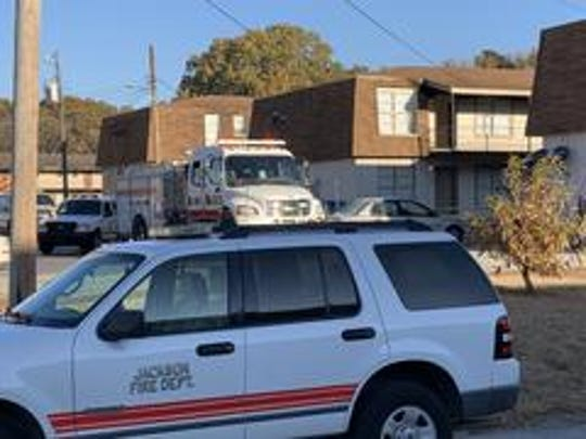 Jackson police and fire officials are investigating the cause of an apartment fire at 1160 Hollywood Drive in Jackson, Tenn. on Nov. 13, 2019 after finding a deceased victim inside the burning building.