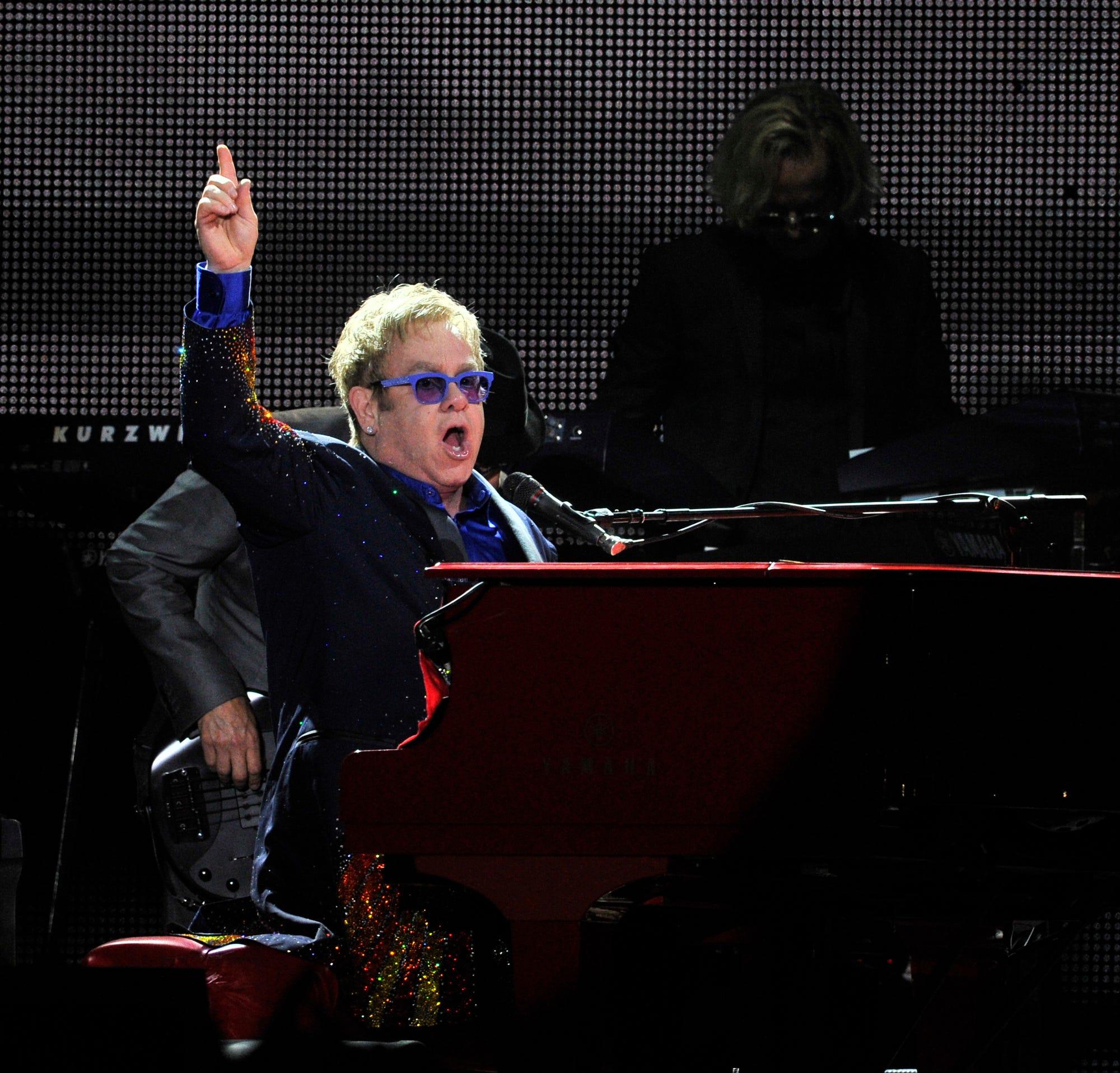 Elton John Farewell Yellow Brick Road tour coming to MetLife Stadium in 2022. See dates