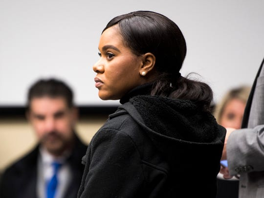 Chantae Cabrera in Knox County Criminal Court on Wednesday, November 13, 2019.