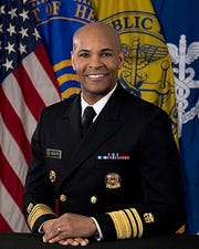U.S. Surgeon General Jerome Adams previously served as the Indiana State Health Commissioner.