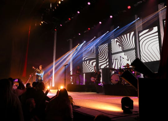 The Goo Goo Dolls performed at the Louisville Palace in Louisville, Ky. on Nov. 12, 2019.
