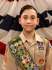William M. Brewer, 16, has earned the highest advancement award the Boy Scouts of America offers to Scouts — the Eagle Scout Award.