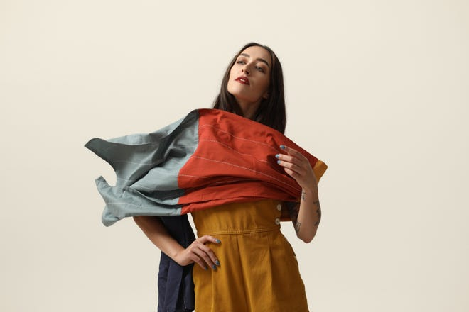 Anchal Project, handmade fair trade cotton scarf.