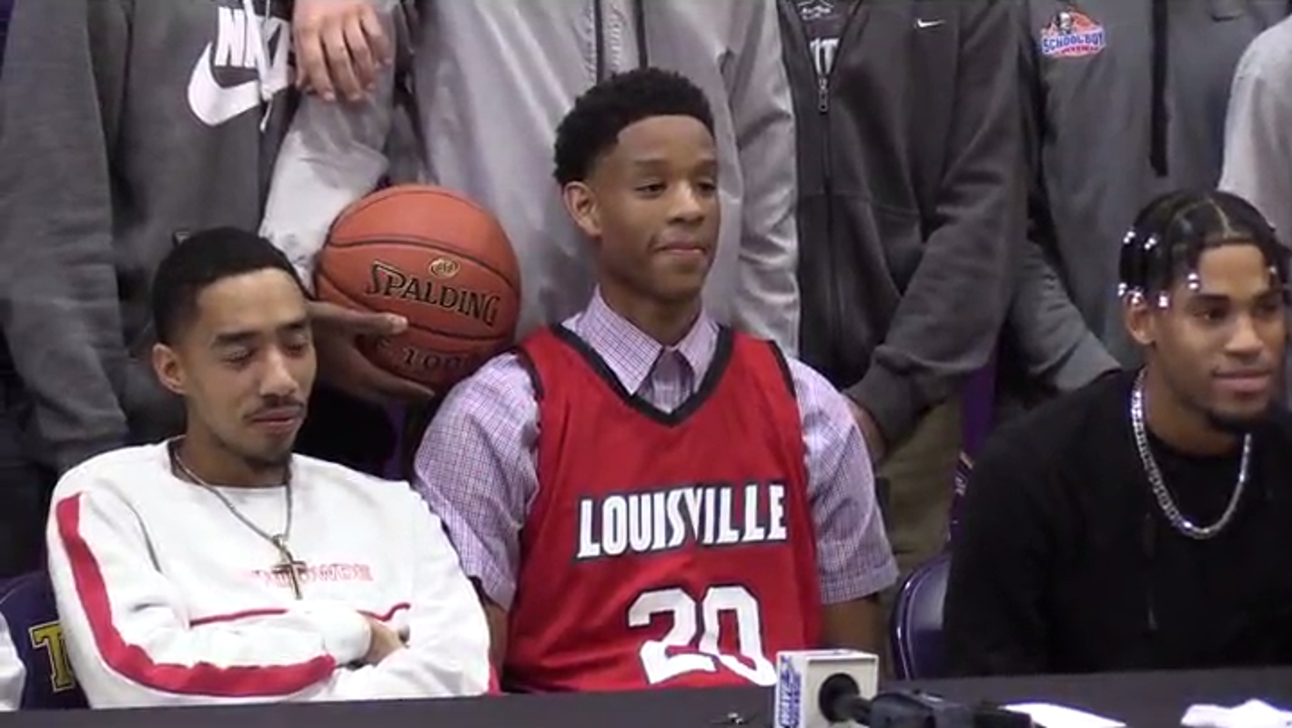 Louisville signee J.J. Traynor, Bardstown knock off Trinity basketball