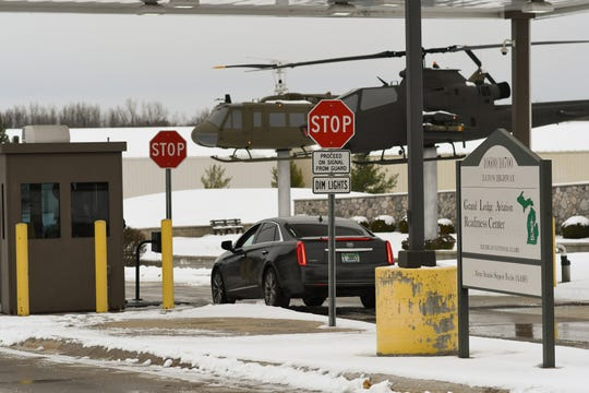 The Michigan National Guard's Grand Ledge Aviation Readiness Center pictured Wednesday, Nov. 13, 2019.