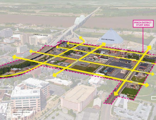 After a year assembling land, New York developer Tom Intrator now owns most of the property between Front and Second streets between Jackson and Shadyac avenues. He is planning a $1.1 billion project that will include apartments, retail, office space and hotels.