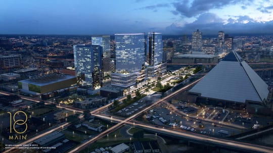 18 Main has unveiled plans to reimagine the Pinch District of Downtown Memphis.