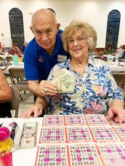 On Nov. 7, the Knights of Columbus San Marco Council #6344 hosted a Bingo Night in the San Marco Parish Center. The Coach bag winner was Pat Fiorina.