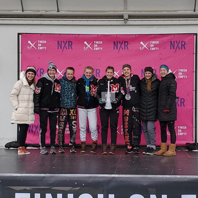 The Muskego girls cross country team took second place in its regional to qualify for the Nike Cross Nationals in December.