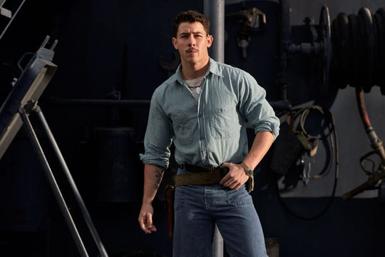 """Nick Jonas stars as Bruno Gaido in the new film """"Midway.""""  Gaido grew up in Milwaukee and earned a promotion from Admiral William Halsey after Halsey witnessed Gaido shooting down a Japanese bomber before it could crash into the USS Enterprise in 1942."""