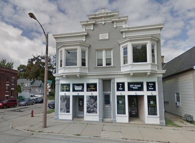 Dave's Guitar Shop has left its Bay View store, shown here, for larger quarters in Walker's Point.