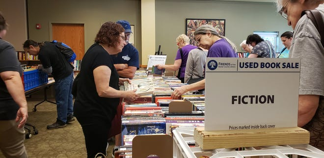 Stop by the Friends of the Library Used Book Sale on Thursday, Fridayand Saturday, Nov. 21-23, for great deals on books and a chance to support the Baxter County Library.