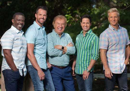 The Gaither Vocal Band will perform Friday at the Montgomery Performing Arts Centre.