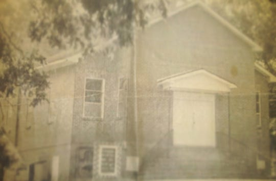The old building for Old Elam Baptist Church in Montgomery.