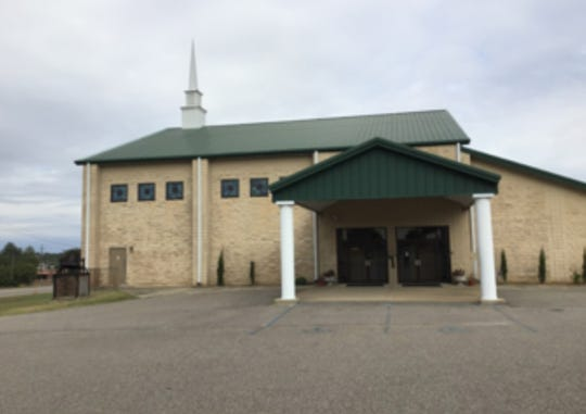 Old Elam's new church building in Montgomery.