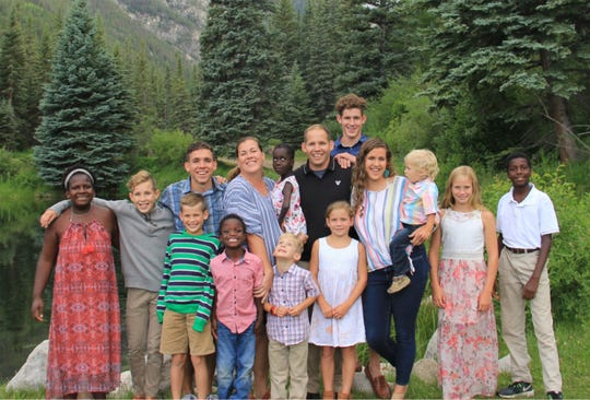 Tim and Kim Tormey of Pike Road have 13 children.