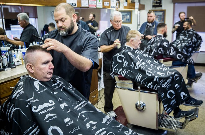 Maxwell's Barber Shop on Memorial Drive in Muncie has been open for nearly 60 years.