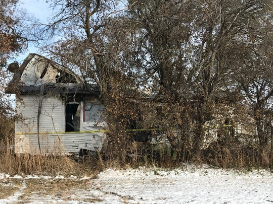 A home in the 10600 block of West Ind. 28 southwest of Gaston was declared a total loss after a Wednesday morning fire.