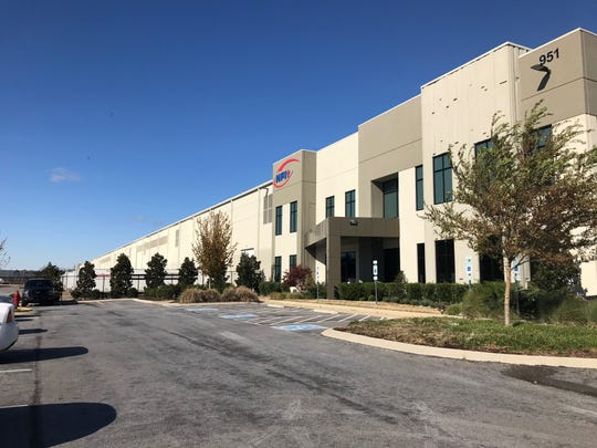 This NFI warehouse is among the three Hillwood warehousing developments at Smyrna Airport Business Park. A fourth warehouse is also planned.