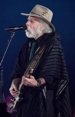 "Bob Weir performs with Margo Price ""Fast as You"" at BMI's 67th Annual Country Awards Tuesday, Nov. 12, 2019, in Nashville, Tenn."