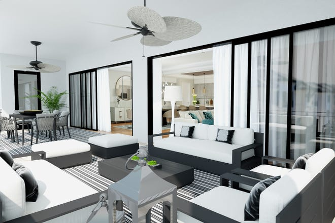 Quattro at Naples Square  features seven spacious two, three, and four-bedroom plus den open-concept, floor plans ranging from 2,314 to 3,885 total square feet and priced from $1.3 million.