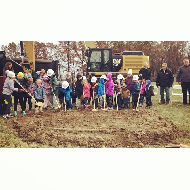 Kids in the Northridge Local School District helped break ground  last weekend for the new elementary school, which will be built near the current middle and high schools along U.S. 62 for pre-kindergarten through fifth grade.