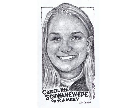 Caroline Schwanewede, Ramsey soccer