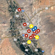 Doña Ana County homicide map