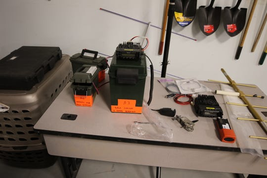 Radio equipment is vital to the Eddy County Search and Rescue team.