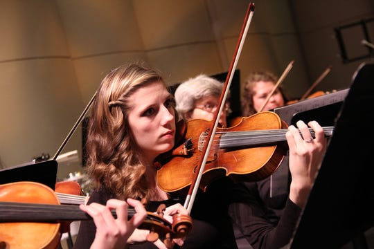 The San Juan College Orchestra performs Nov. 15 at the Henderson Fine Arts Performance Hall on the college campus.