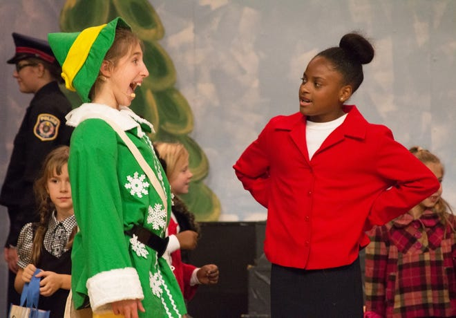 Local young actors are bring Elf, a beloved holiday story, to life at the Costick Center.
