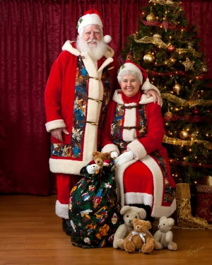 Santa and Mrs. Claus are coming to visit Ascension Mercy Hospital Dec. 14 at 9 a.m.