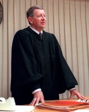 John Kuder, pictured here in 1998, was the chief judge of Florida's First Judicial Circuit when he agreed to impanel a grand jury to examine the state of Escambia County's air and water quality.